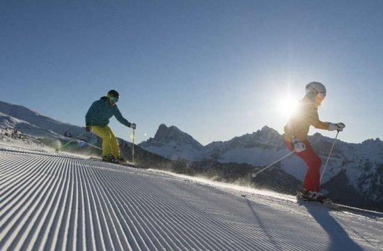 Shooting Plose Brixen Skifahren Bergrestaurant Winter Manuela Os